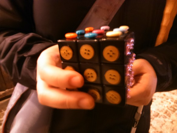 Rubicks Cube with Buttons!