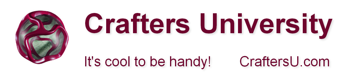 Crafters University Banner